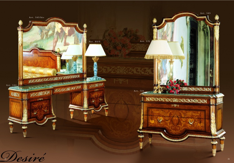 From Mida dressing table with mirror handmade