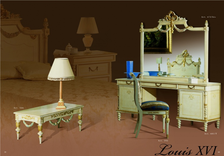 Set with dressing table for the bedroom from MIDA