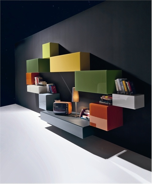 Bookcase 36e8 from Lago