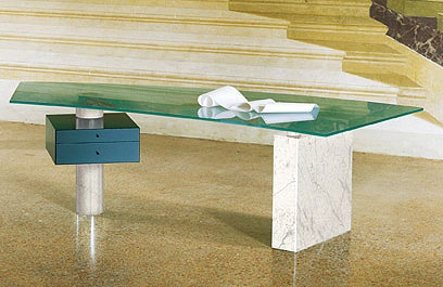 The Graphic marmo table from Cattelan Italia
