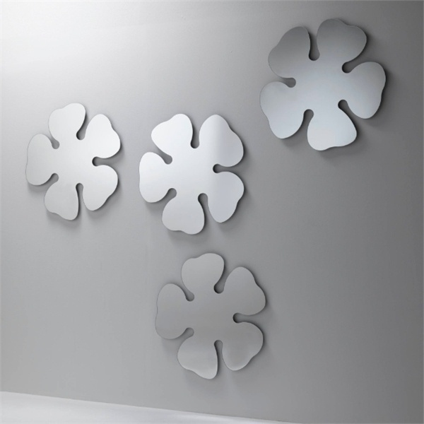 Set wall mirrors in the shape of Lotus flowers Lotus - Porada
