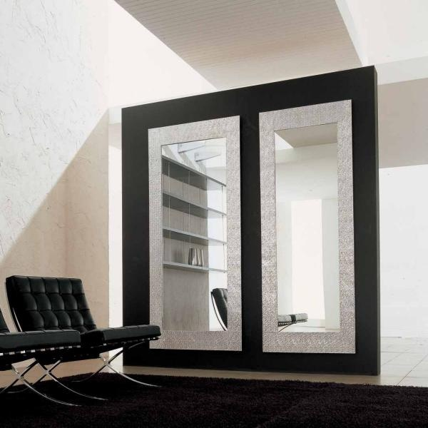 Mirror in aluminium frame Look At Me, Alivar