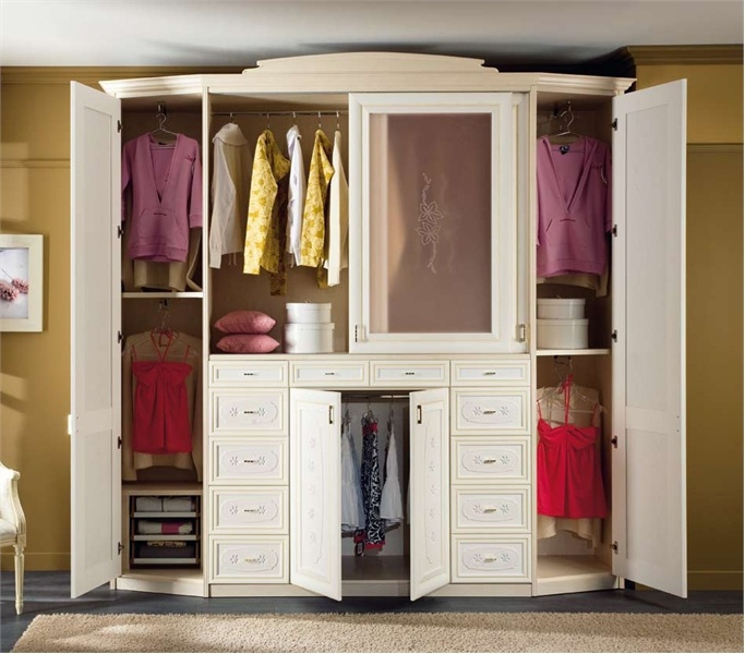 Wardrobe made of MDF Catarina 1, Forni mobili