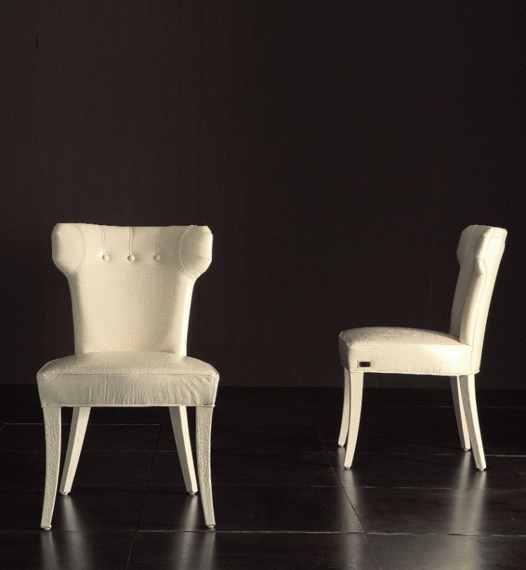 Chair with soft back Guendalina bassa– Rugiano