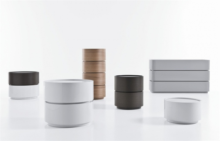 A series of pieces of furniture for storage, Dedalo - Pianca