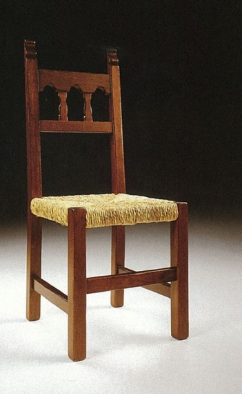 Chair with high back, Croce