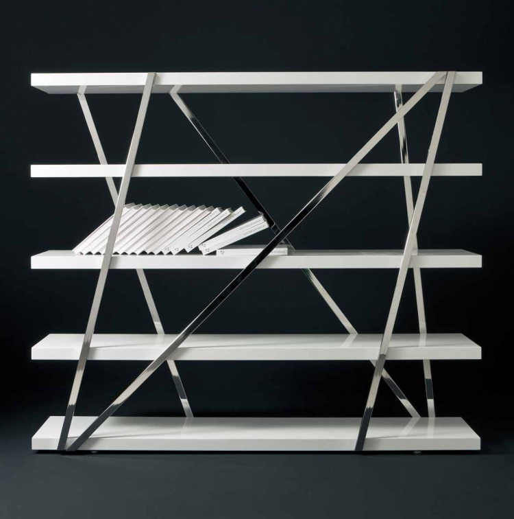 Shelving for books, Pacini & Cappellini