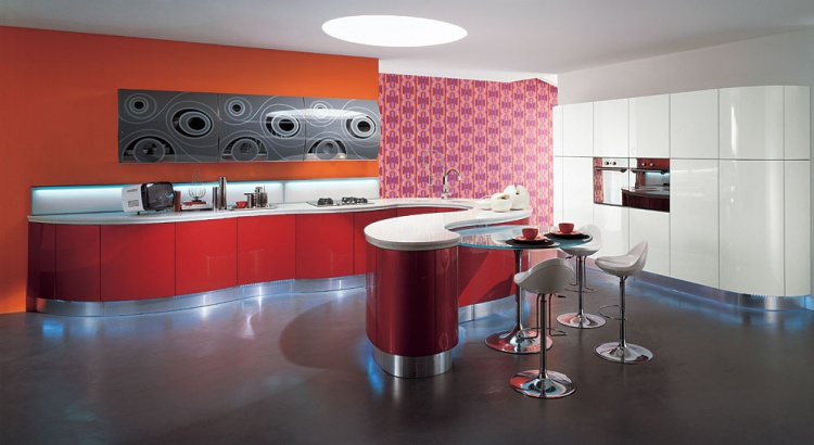 kitchen (kitchen set) Aster Cucine Domina, Laccato