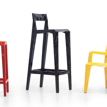 Bar Mr Bugatti chair (high stool), Cappellini