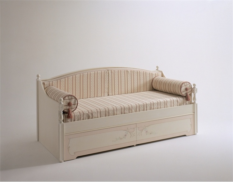 Children's sofa bed is handmade, Divano Letto - Pellegatta
