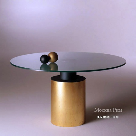 Dining round table, Creso - Acerbis
