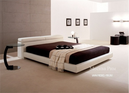 Double bed with a podium Logan, Cattelan Italia
