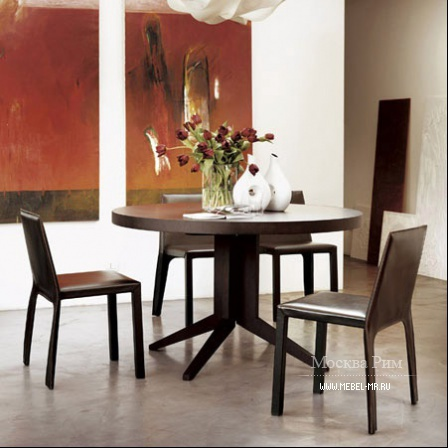 Dining table with round top, Bryant tavolino - Porada