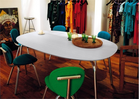 Dining table Sine Table, Cappellini