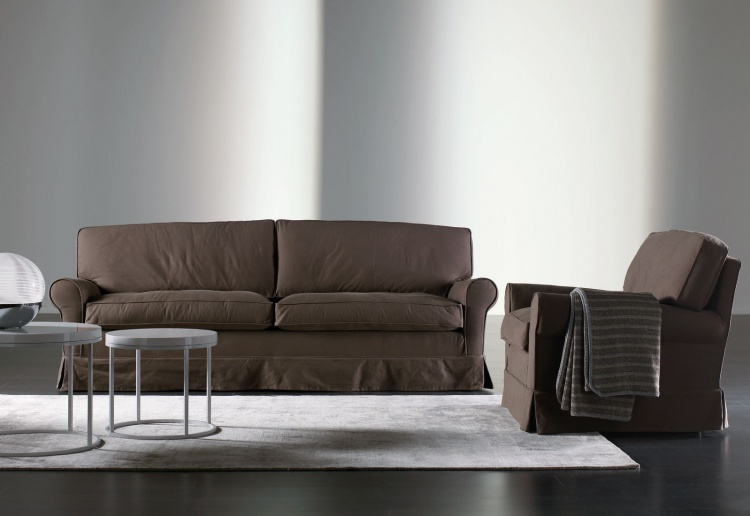 Connery triple sofa, Meridiani