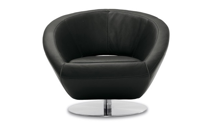 CHAIR ON ROUND BASE, CONTEMPO
