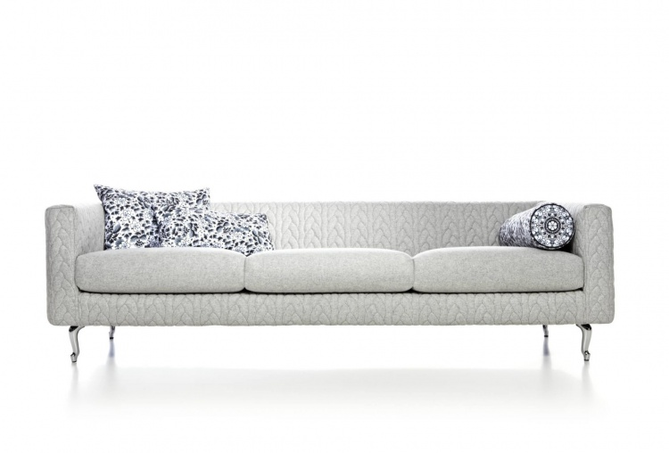 Three seater sofa Delft Jumper, Moooi