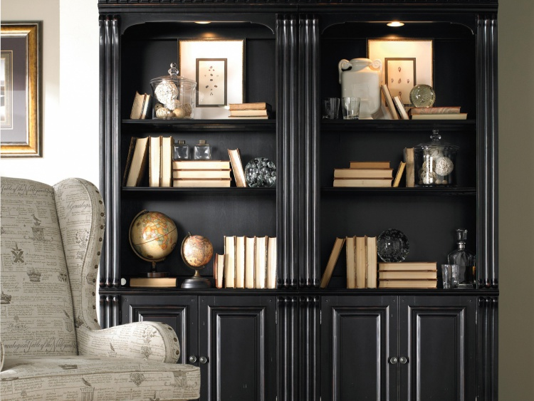 Bookcase Bunching Bookcase, Hooker Furniture